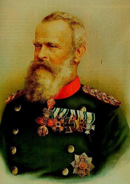 Porträt von Prinzregent Luitpold Karl Joseph Wilhelm von Bayern