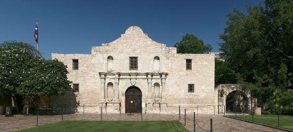 The Alamo - San Antonio, USA (Foto: Daniel Schwen, WikiCOmmons - https://commons.wikimedia.org/wiki/User:Dschwen)