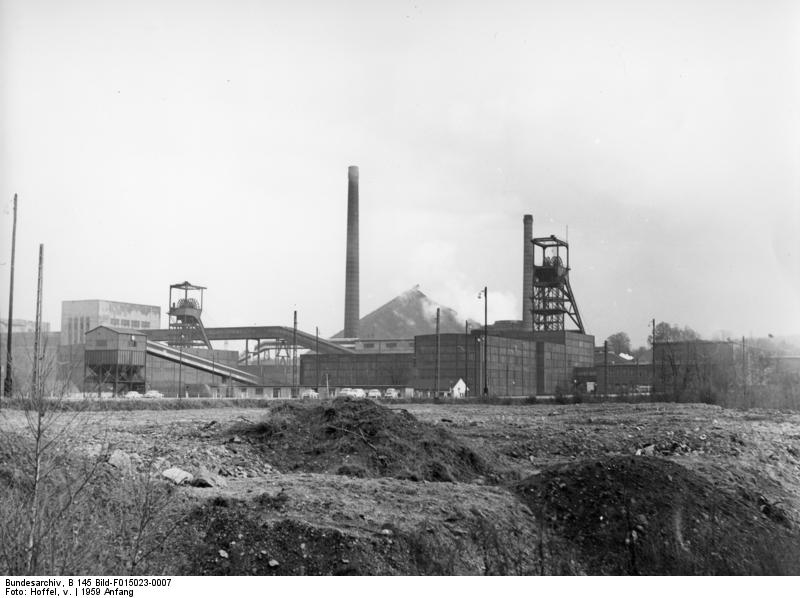 Zeche Reden, Landsweiler-Reden (Saar) - Quelle: Bundesarchiv [1]
