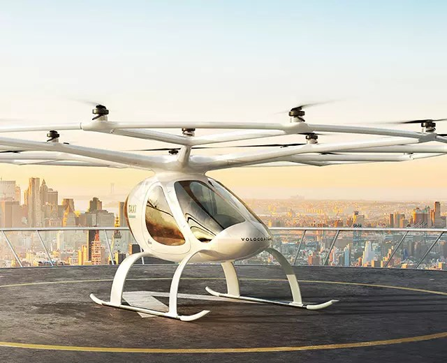 Volocopter : Bientôt des taxis volants à Paris