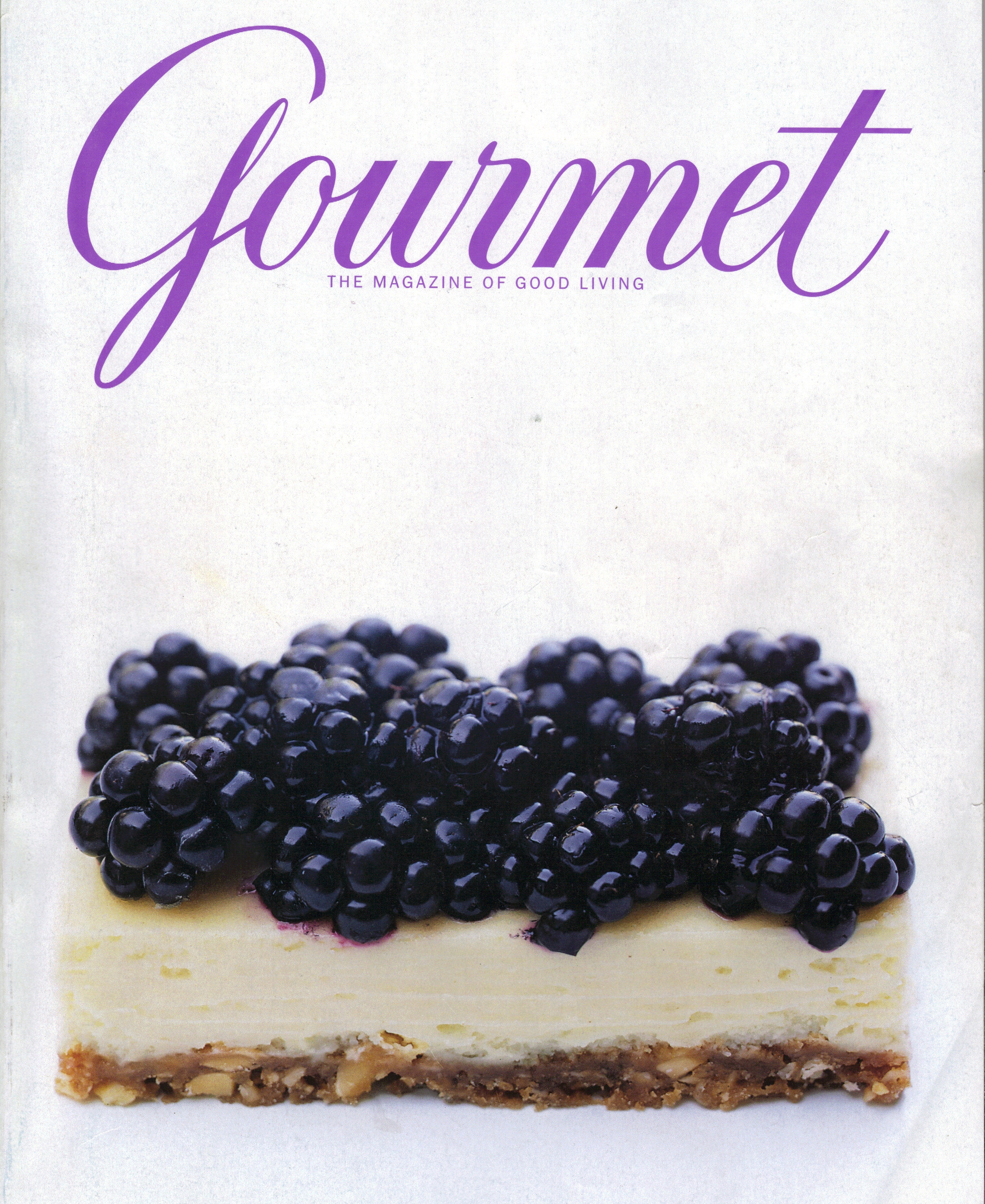 Gourmet Cover - August 2008