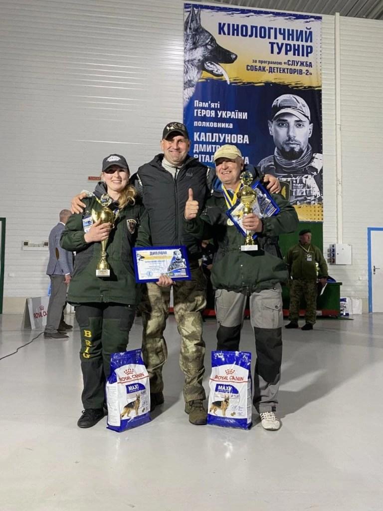 Чемпионат среди собак-детекторов в Межигорье