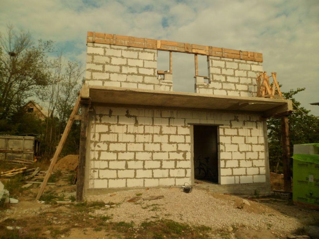 Строительство дачных домов из газобетона