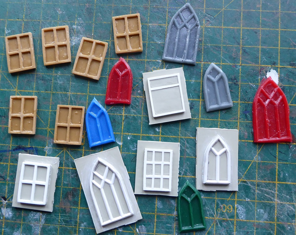 Making Windows (and other bits) for Buildings