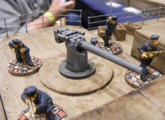 The harbour battery - another squad objective