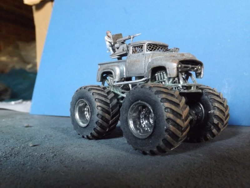 Gaslands Monster Truck Build
