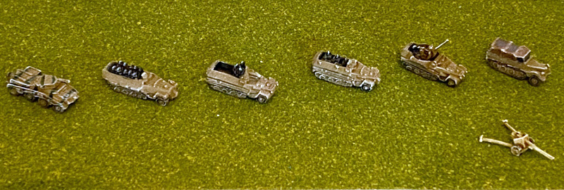 picture of miniature vehicles