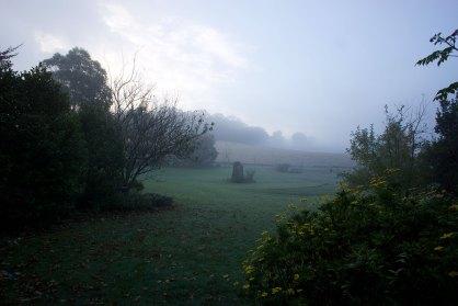 A misty morning at Brigadoon