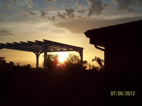 Primo bel tramonto