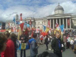 Celebrazioni a Trafalgar Square