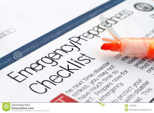 http://www.dreamstime.com/stock-images-emergency-checklist-image17087894