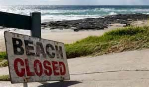 Cove closed until Monday