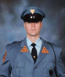 The men and women of the Brigantine Police Department would like to extend our deepest sympathy to the family & friends of  Trooper Eli McCarson  of the New Jersey State Police.