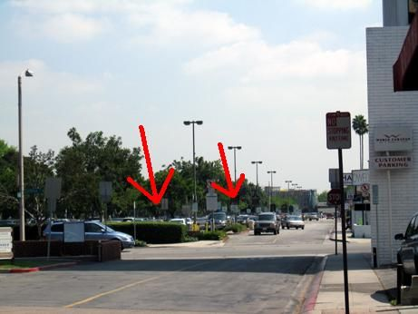 Keeping the road that separates the shops from the parking lot, one can see how developing mixed-use projects would add another dimension to South Lake Avenue making it even more interesting and pedestrian friendly