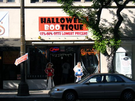 halloween bootique advertises lowest prices