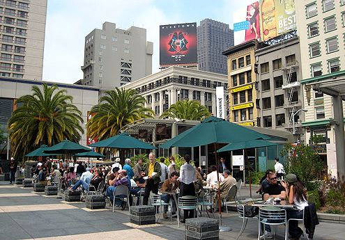 Emporio Rulli Cafe in Union Square, San Francisco (Photo: Lisa's Gallery)