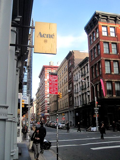 Acne Studios in SoHo, New York