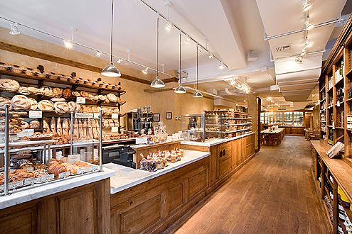 Le Pain Quotidien in Manhattan (Photo: Archinect)