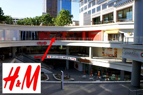 The new LA H&M flagship store at 32,000 square feet will open at FIGat7th in 2014