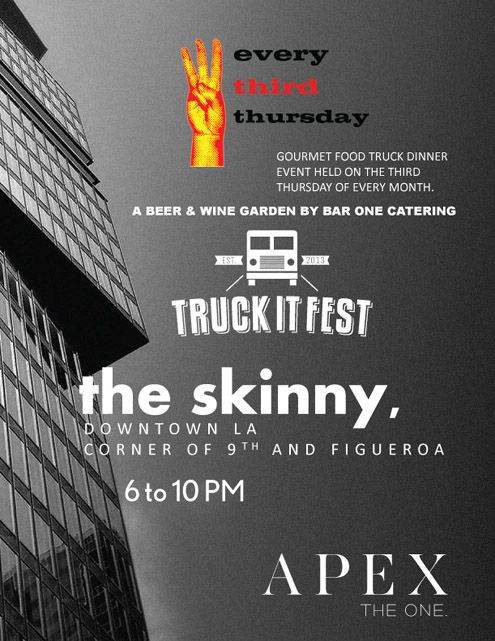 APEX Food Truck Event in Downtown LA