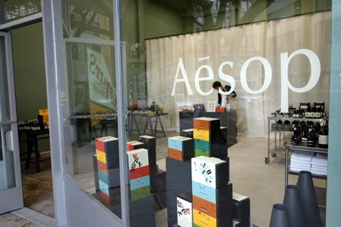 Aesop pop-up shop now open at 125 W 9th Street in Downtown LA