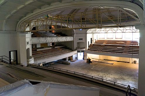 The amazing Trinity Auditorium is being renovated with plans to bring it back as an entertainment venue