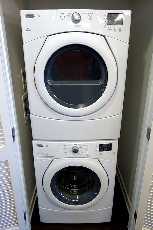 All units come with washer and dryer