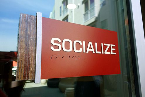 Socialize: something Jia Apartments hope to have their guests do while living here