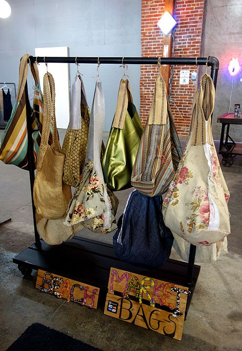 Handmade bags and totes from local Hollywood designer Angel