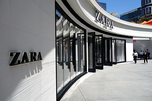 The Zara flagship store now open in Downtown LA