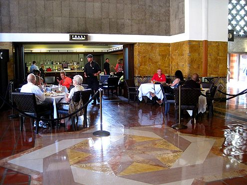 Traxx Restaurant, operating since 1997, will be located directly across the new Cafe Crepe in Union Station