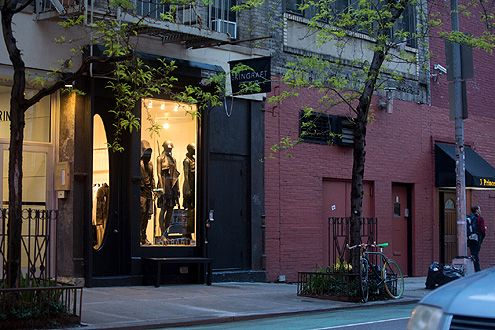 New Skingraft store in NYC on Prince Street in Nolita (Photo: Skingraft Designs)