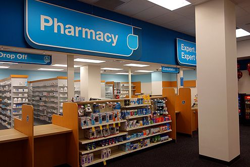 Pharmacy and other health products