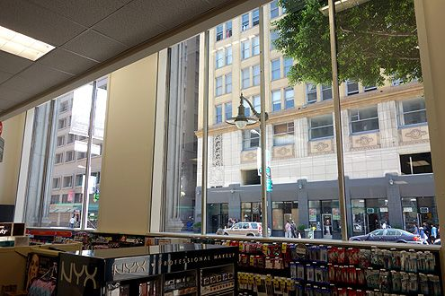 Another view of the large windows facing 7th Street