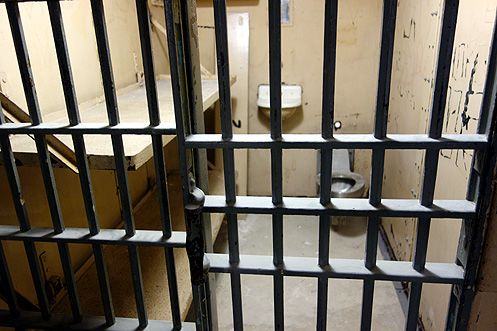 A peek inside a cell where Charles Manson may have once been held