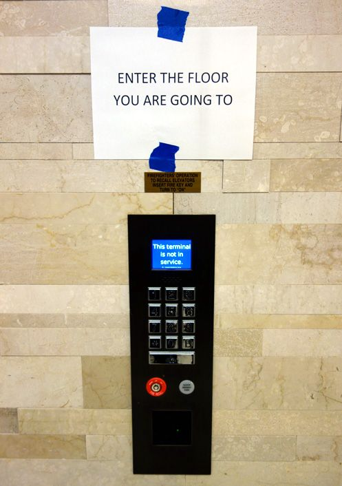 New efficient and technologically advanced elevator system added