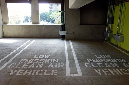 The new parking structure has 1,000 parking spaces
