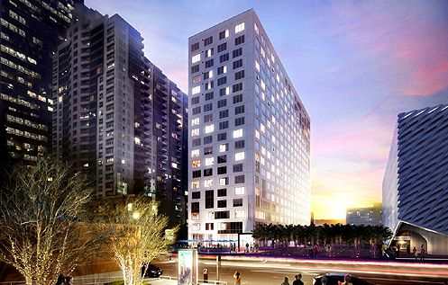 The Emerson is a new 19-story residential tower offering 271 luxury apartments for rent (Photo: Emerson)