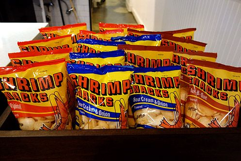 Shrimp chips to go with that banh mi and rice bowl (Photo by Brigham Yen)