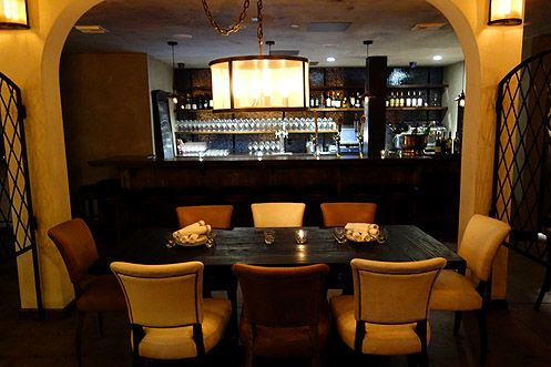 D'Vine seating at the bar