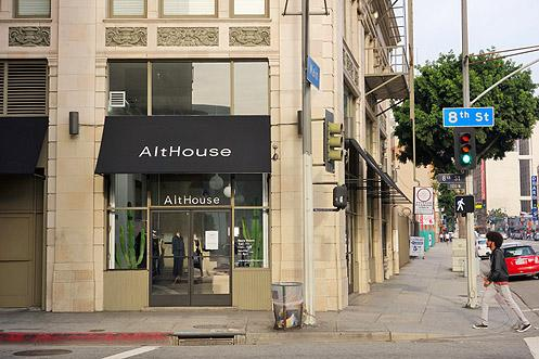AltHouse is now open at 8th and Main in Downtown LA in the beautiful historic Great Republic Lofts building