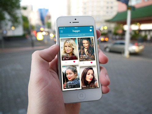 Happn is available for free download on the App and Play Stores