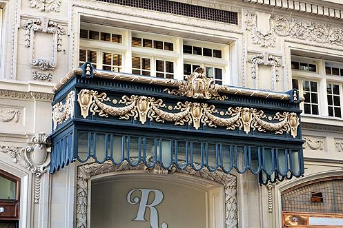 The ornate historic details of the Rosslyn have been restored beautifully