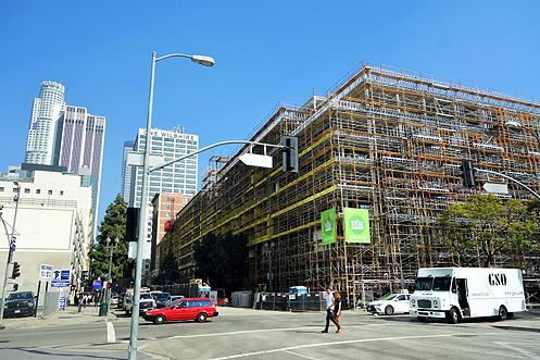 Whole Foods sits underneath 700 units of luxury rental apartments under construction opening later this year