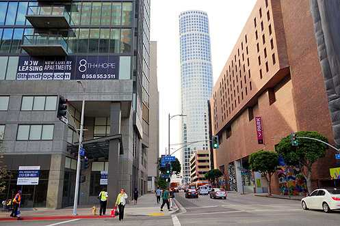 As more businesses begin to open along 8th Street, the pedestrian connection is strengthened between South Park and the Financial District becoming an activated, vibrant urban community