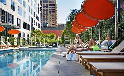 The Emerson is Downtown LA's newest luxury apartment tower now ready for move-ins (Photo: The Emerson)