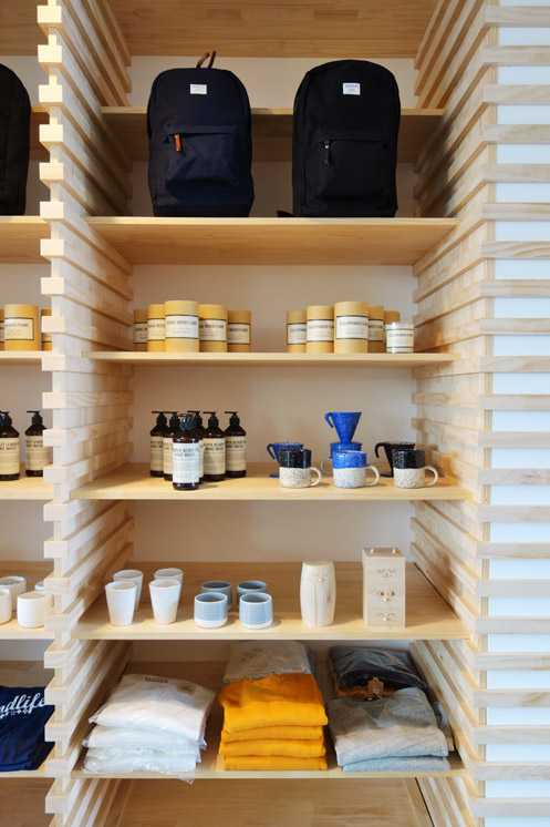 Wittmore's apothecary and accessories section