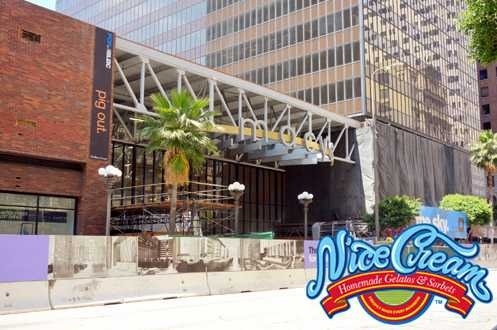 Nice Cream will be scooping organic gelato and sorbet (made fresh daily) at The Bloc in Downtown LA