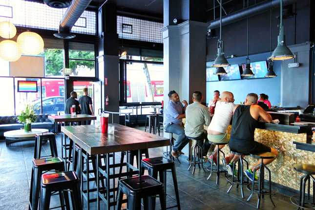 A gay bar that is planning to open
