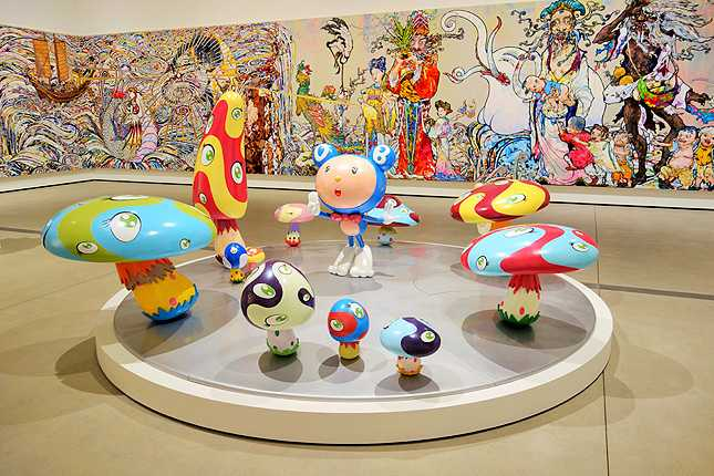Takashi Murakami's DOB in the Strange Forest (1999)